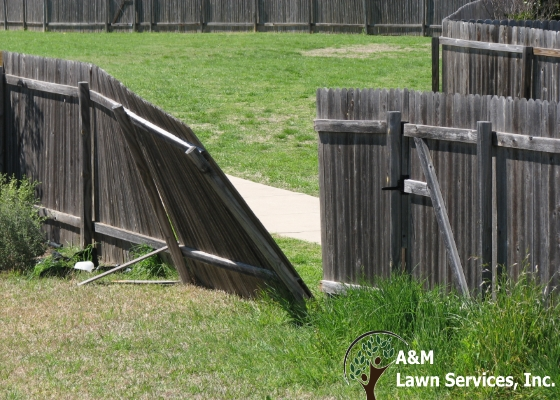 fence repair denver